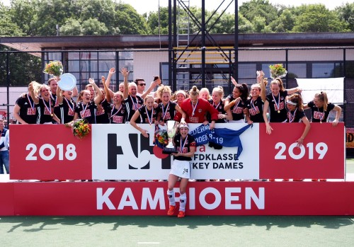 Amsterdam is de regerende landskampioen van Nederland. Foto: Roel Ubels