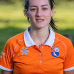 BLOEMENDAAL - Pili Romang (Bldaal) .Dames I van HC Bloemendaal , seizoen 2019/2020.   COPYRIGHT KOEN SUYK
