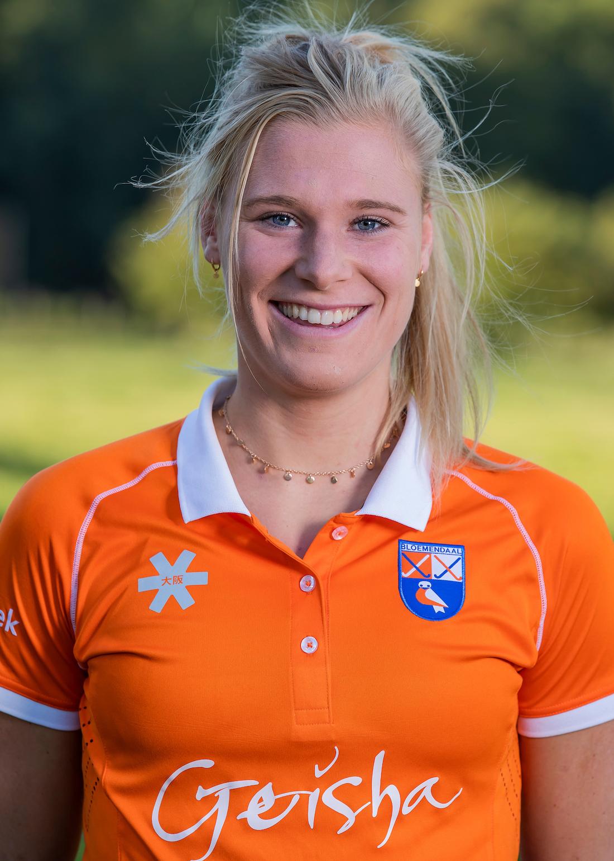 BLOEMENDAAL - Sascha Olderaan (Bldaal) Dames I van HC Bloemendaal , seizoen 2019/2020.   COPYRIGHT KOEN SUYK
