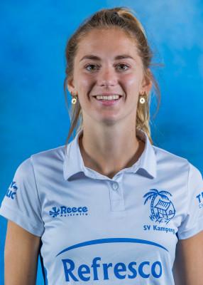 Tessa Schoenaker speelde maar één seizoen voor Kampong. Komend jaar vertrekt ze naar NMHC Nijmegen.
