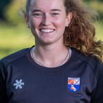 BLOEMENDAAL - keeper Zoe Van den Barselaar (Bldaal) Dames I van HC Bloemendaal , seizoen 2019/2020.   COPYRIGHT KOEN SUYK
