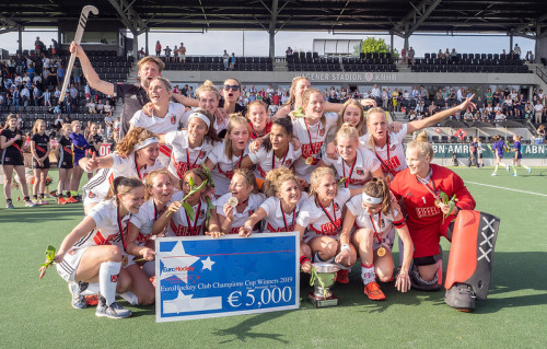 In 2019 werd Amsterdam Europees Kampioen door in eigen stadion onder andere Den Bosch te verslaan.