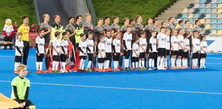 De Nederlandse heren nemen het dit weekend op tegen Duitsland.
