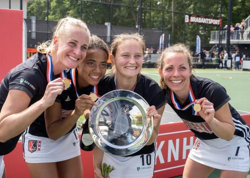 In het seizoen 2018-2019 werd Amsterdam sinds lange tijd weer landskampioen. Foto: Roel Ubels