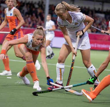 Op het EK van 2019 speelt van Maasakker met Oranje gelijk tegen België.