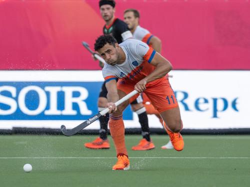 Op het EK Hockey won Glenn Schuurman een bronzen medaille met Oranje. Foto: Roel Ubels