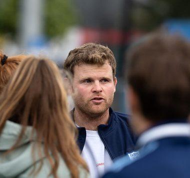 Coach Ivar Knötschke wil met zijn team meedoen in de play-offs.