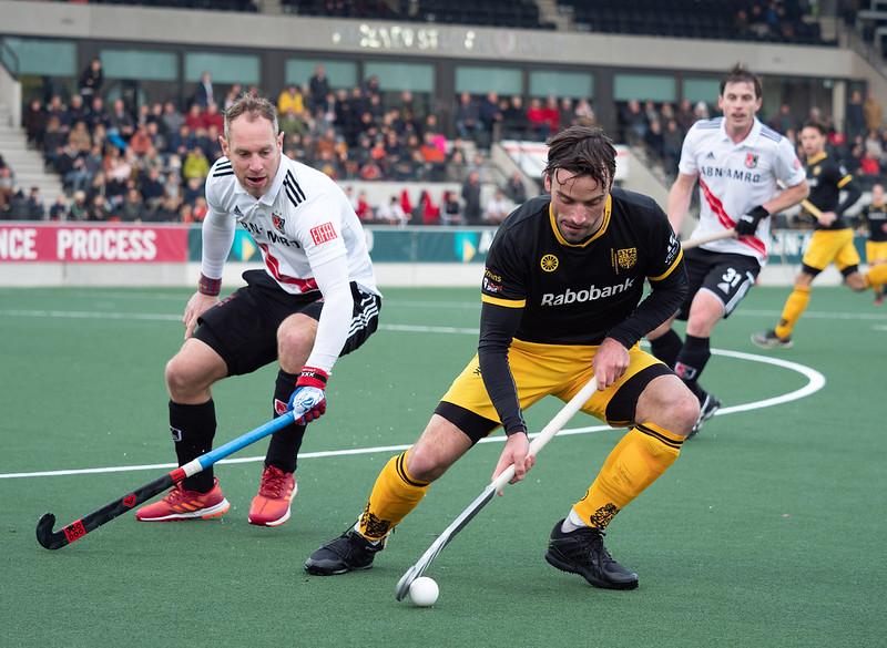 Sebastien Dockier verlaat na vijf seizoen HC Den Bosch. Foto: Roel Ubels