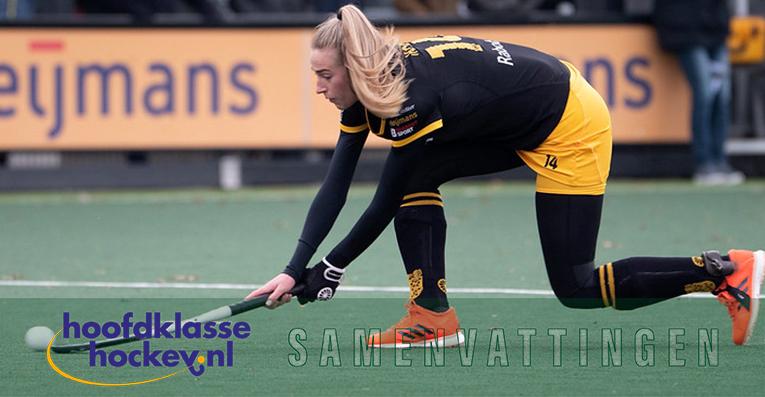 Samenvatting Hoofdklassehockey met Sanne Koolen