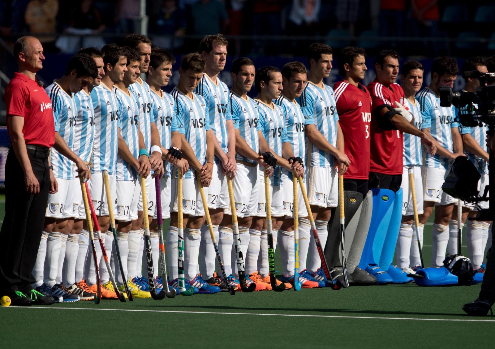 Australië Argentinië heren WK RU