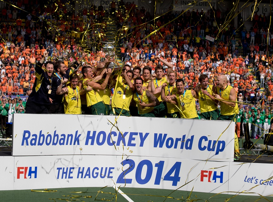 Australië heren WK finale RU