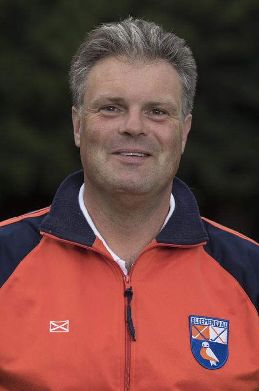BLOEMENDAAL - assistent coach Anre Morees  van Bloemendaal Dames I seizoen 2016-2017.    COPYRIGHT KOEN SUYK