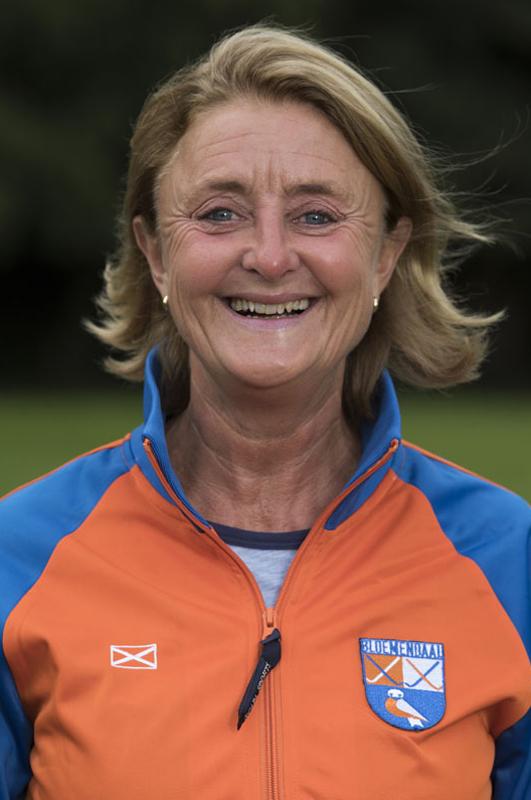 BLOEMENDAAL - Manager Edith Karsten van Bloemendaal Dames I seizoen 2016-2017.    COPYRIGHT KOEN SUYK