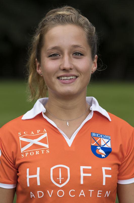 BLOEMENDAAL - STERRE BREGMAN  van Bloemendaal Dames I seizoen 2016-2017.    COPYRIGHT KOEN SUYK
