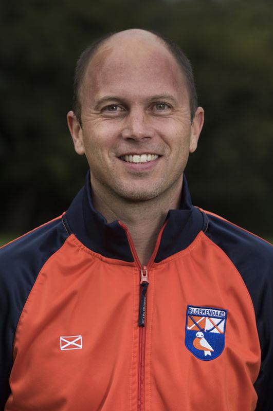 BLOEMENDAAL - Coach Teun de Nooijer van HC Bloemendaal Dames I seizoen 2016-2017.    COPYRIGHT KOEN SUYK