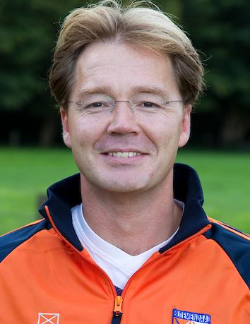 BLOEMENDAAL -  Heren 1 van HC Bloemendaal , seizoen 2011-2012. Foto Koen Suyk