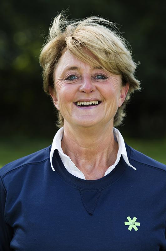Bloemendaal . Manager Edith Karsten. Dames I , seizoen hoofdklasse hockey, 2017-2018.  COPYRIGHT KOEN SUYK