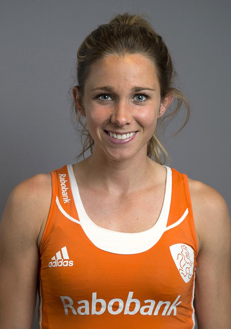 Oranje WK dames Ellen Hoog KS