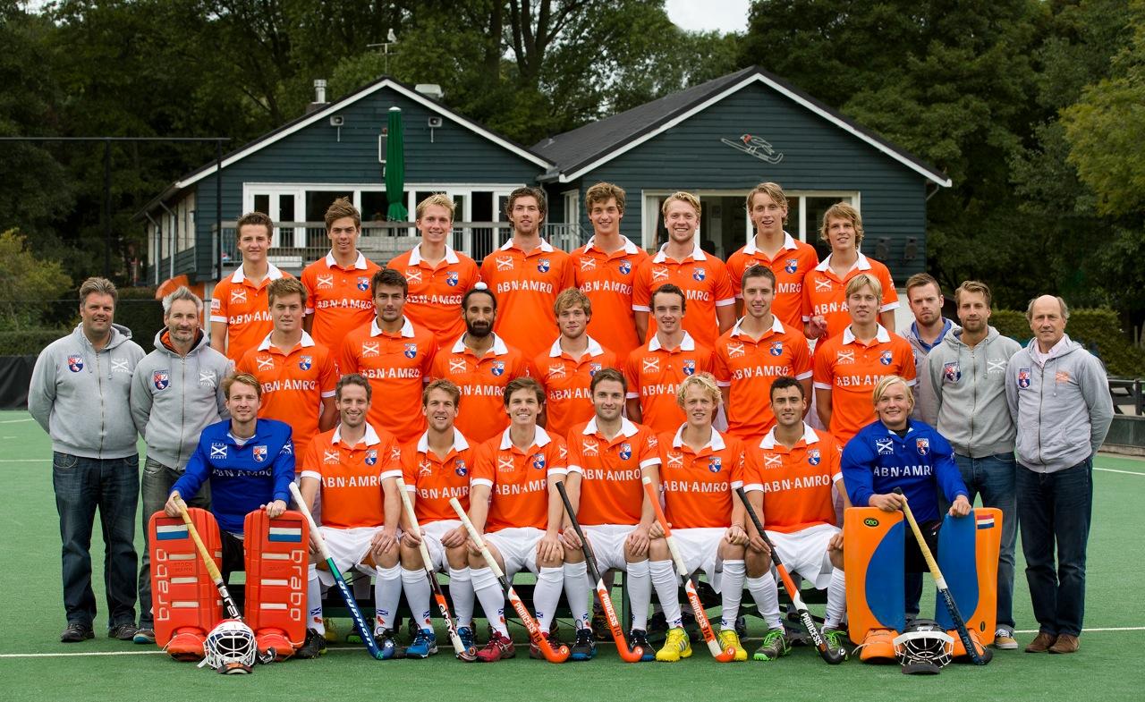 Heren I Bloemendaal teamfoto