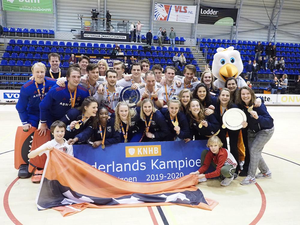 Laren en Amsterdam worden landkampioen 2020.
