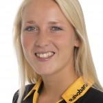 HCDB, Dames 1, seizoen 2013-2014,Ireen van den Assem, rugnummer 7