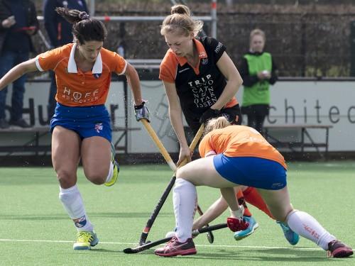 Fieke Hoff maakt na één jaar afwezigheid haar comeback in de Hoofdklasse. (c) Jacob Gunter