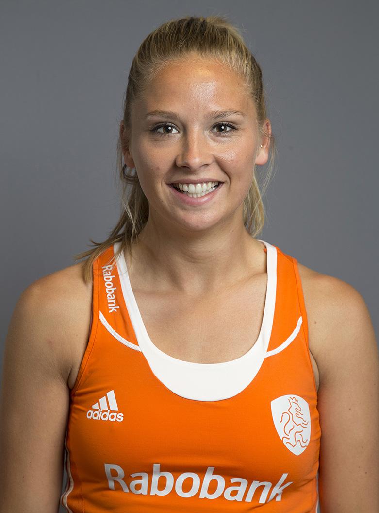 Oranje WK dames Jacky Schoenaker KS