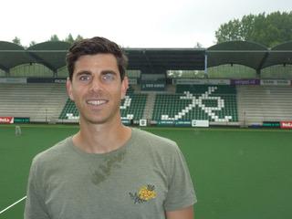 Joaquin Menini tekent een nieuw contract bij HC Rotterdam