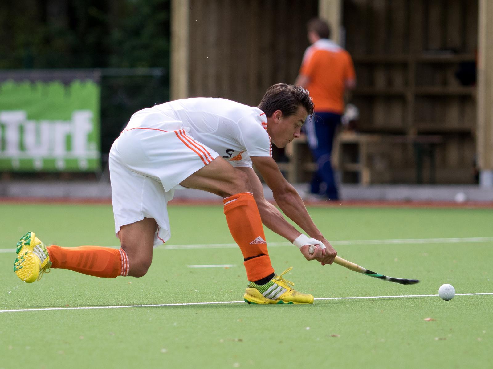 Jong Oranje heren EK Spanje RU Jasper Luijkx