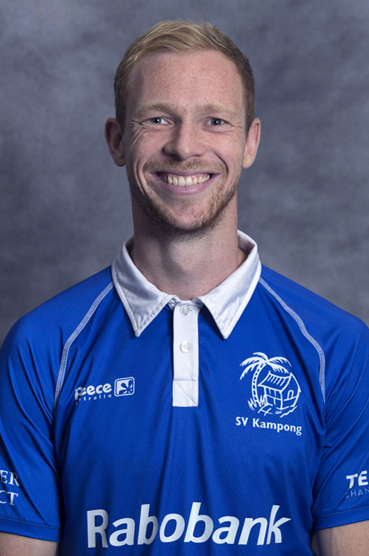 UTRECHT - Erik Bouwens, Kampong Heren I seizoen 2015-2016. COPYRIGHT KOEN SUYK