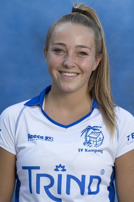 UTRECHT ,  Renee van Laarhoven.    KAMPONG Dames I, seizoen 2016-2017. copyright Koen Suyk