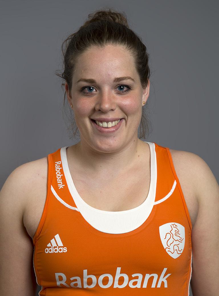 Oranje WK dames Larissa Meijer KS