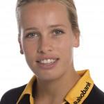 HCDB, Dames 1, seizoen 2013-2014,Lieke Hulsen, rugnummer 19