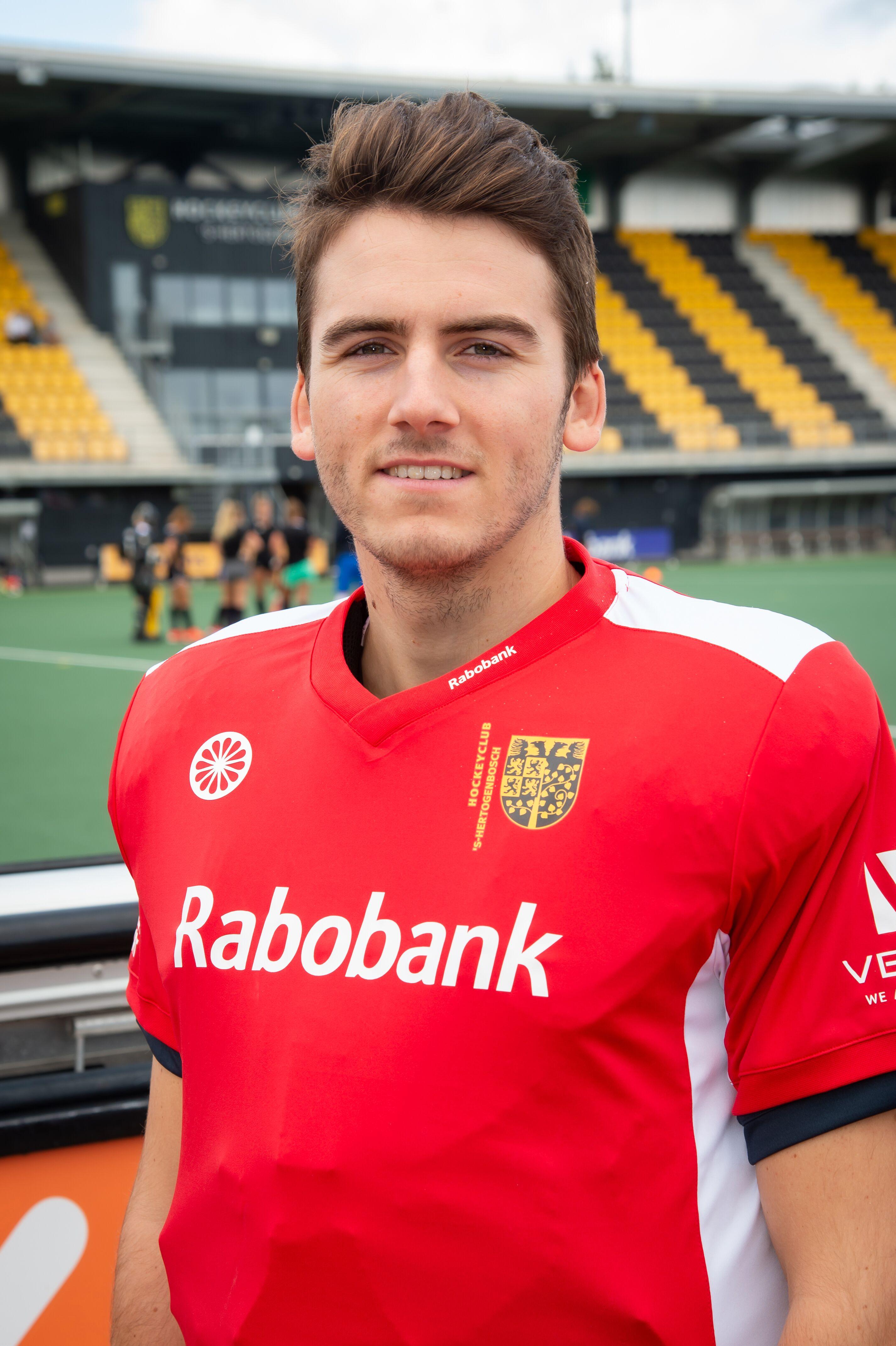Loic van Doren blijft ook komend seizoen voor Den Bosch Spelen.