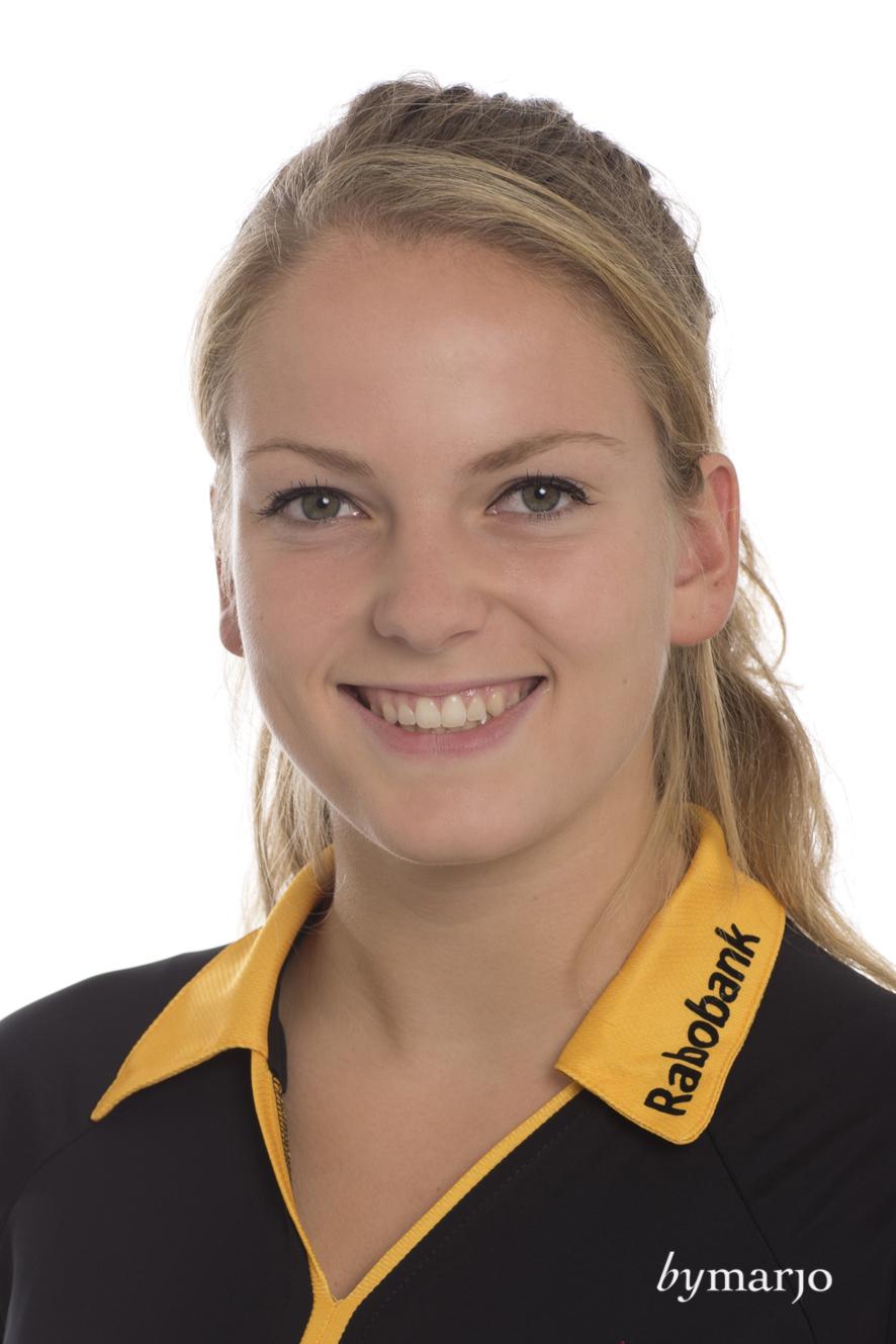 HCDB, Dames 1, seizoen 2013-2014,Maartje Krekelaar, rugnummer 22