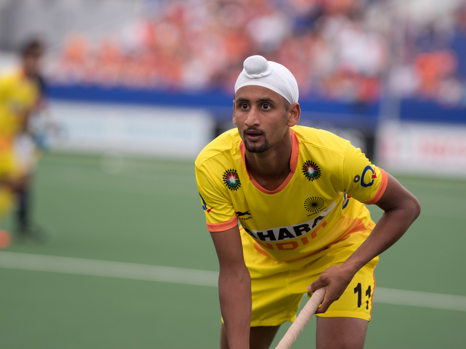 Maleisië India heren WK RU Mandeep Singh