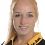 HCDB, Dames 1, seizoen 2013-2014,Margot van Geffen, rugnummer 23