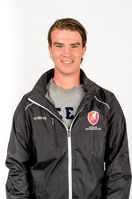 Mark-Dekker-Assistent-coach-Oranje-Rood-Dames-2017-2018
