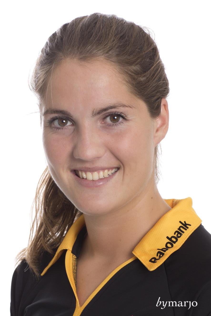 HCDB, Dames 1, seizoen 2013-2014,Marloes Keetels, rugnummer 17