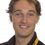 HCDB ,heren 1, seizoen 2013-2014,Matthijs Brouwer, rugnummer 20