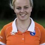 Bloemendaal - Melle Spruijt   (Bl'daal) .  Dames I , seizoen hoofdklasse hockey, 2017-2018.  COPYRIGHT KOEN SUYK