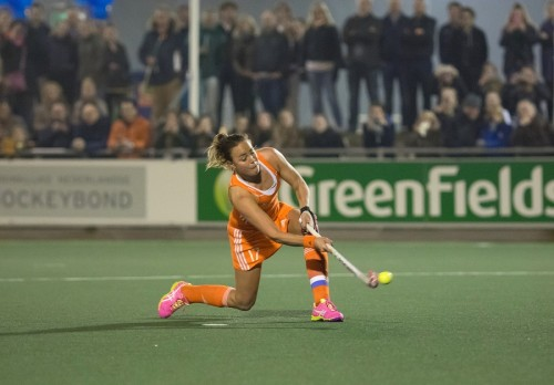 Nederland Oranje Paumen dames RU
