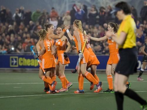 Nederland Oranje van Wijk dames RU