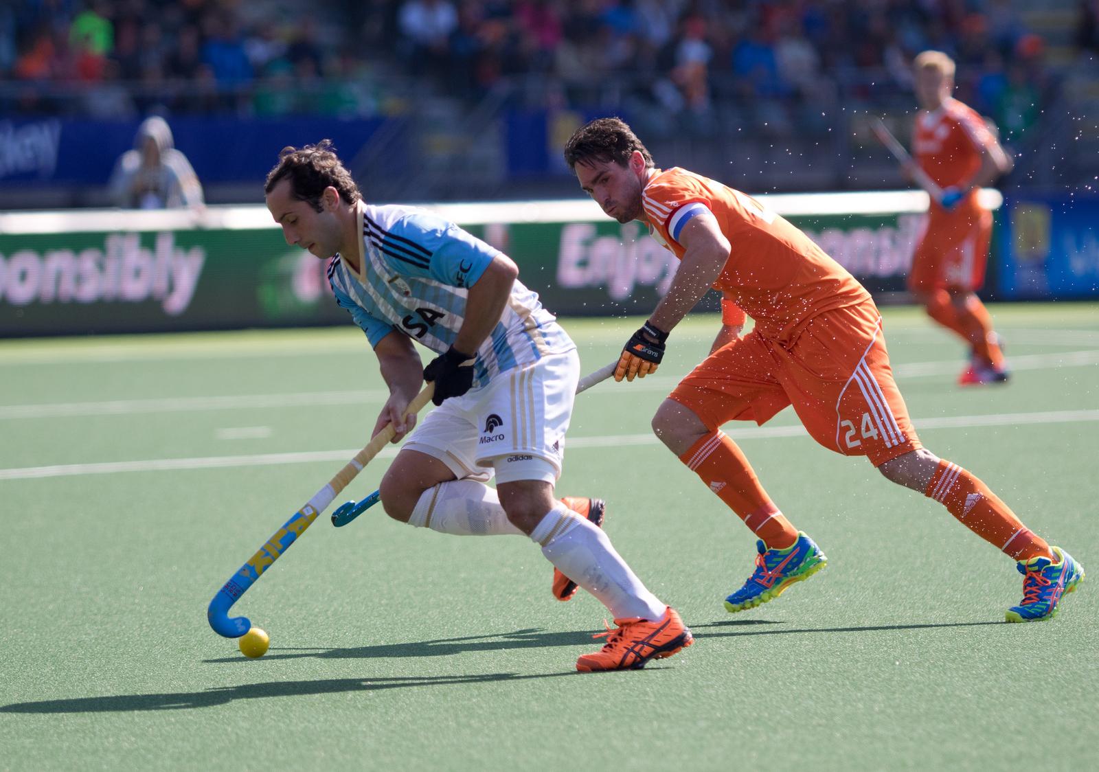 WK heren Nederland-Oranje-Argentinië-RU van der Horst
