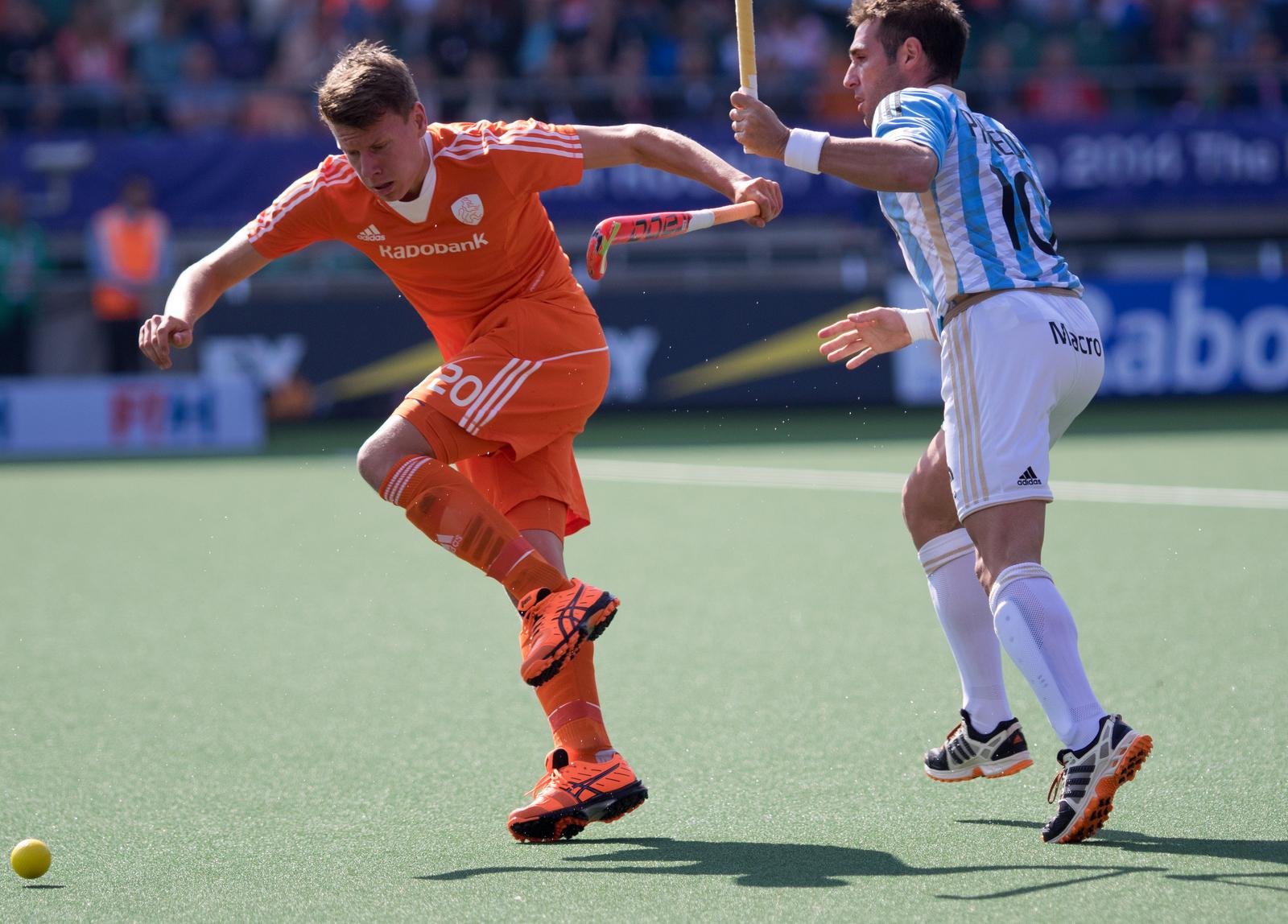 WK heren Nederland-Oranje-Argentinië-RU Galema