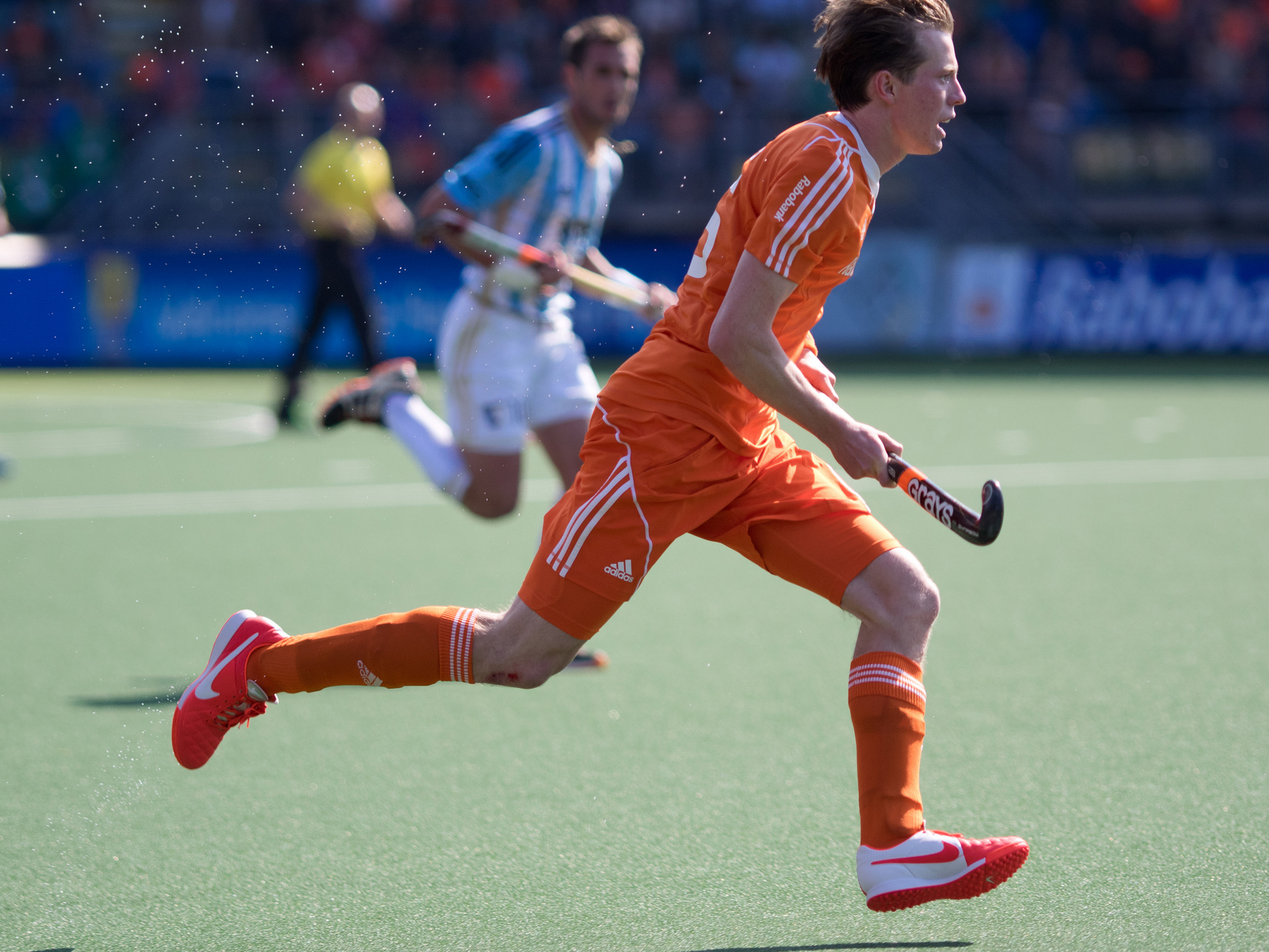 WK heren Nederland-Oranje-Argentinië-RU van Ass