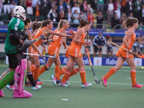 Nederland Oranje Argentinië dames WK RU