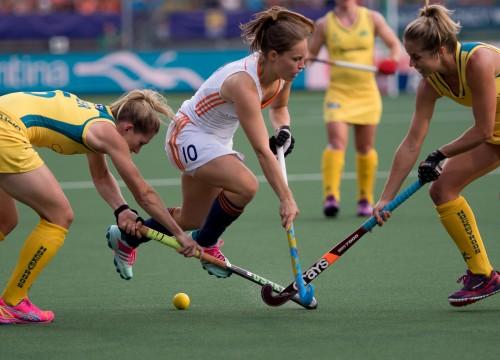 Nederland-Oranje-Australië-dames-WK-RU Kelly Jonker