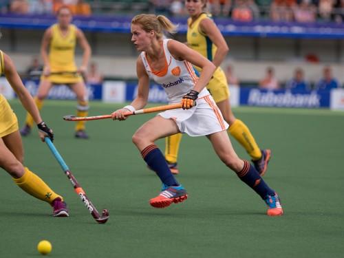Nederland-Oranje-Australië-dames-WK-RU Dirkse van den Heuvel