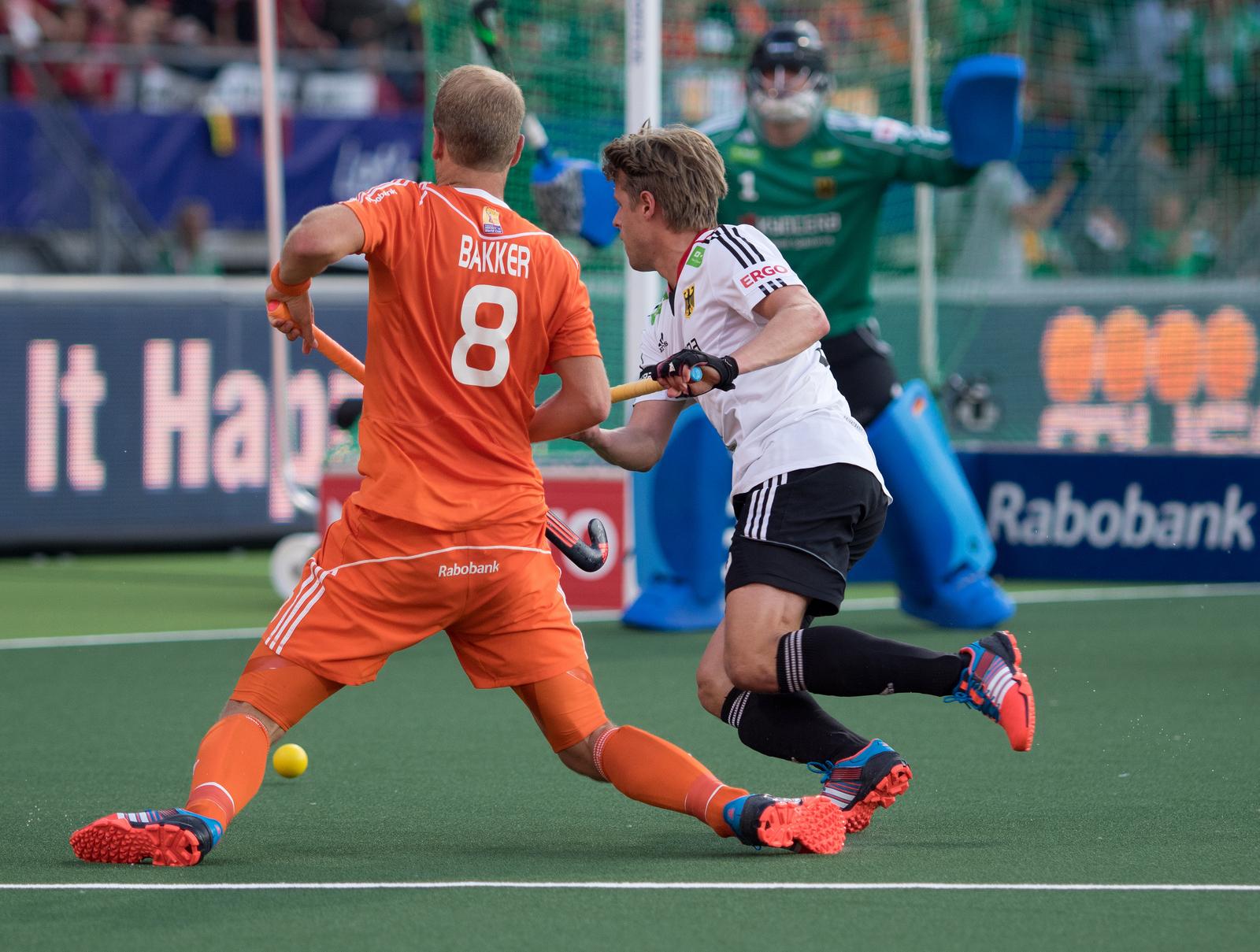 Nederland-Oranje-Duitsland-WK-heren-RU Bakker Hauke